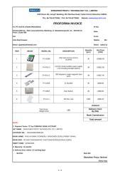Proyu-Proforma Invoice to PT. HASTA UTAMA PRAKARSA from Elena TT PY2013-05-17B.xls