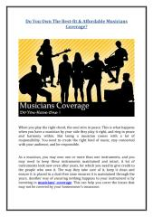 Do You Own The Best-fit & Affordable Musicians Coverage.pdf