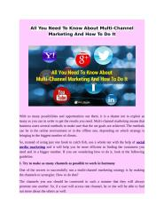 All You Need To Know About Multi-Channel Marketing And How To Do It.docx