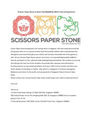 Scissor Paper Stone A Salon that Redefine Kid's Haircut Experience.pdf