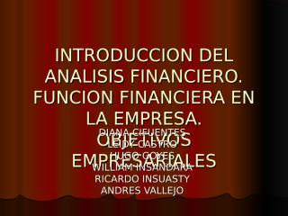 exposicion introduccion del analisis financiero.ppt