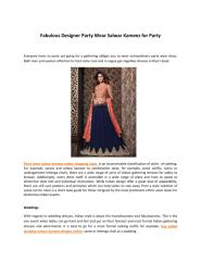 Fabulous Designer Party Wear Salwar Kameez for Party.pdf