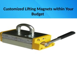Customized Lifting Magnets within Your Budget.pptx
