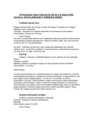 ATIVIDADES PARA CRIANÇAS DE 05 A 8 ANOS[1].doc