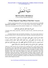 19 Doa Mujarab Yang Dibaca Pada Hari 'Asyura.pdf