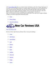 2013 aston martin db9 review.docx