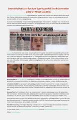 Smartxide Dot Laser for Acne Scarring and & Skin Rejuvenation at Harley Street Skin Clinic.pdf