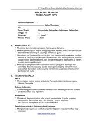 [8] RPP SD KELAS 3 SEMESTER 2 - Berprilaku Baik Dalam Kehidupan Sehari-hari www.sekolahdasar.web.id.docx
