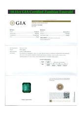 10.11ct GIA Certified Zambian Emerald.doc