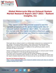 Global Motorcycle Slip-on Exhaust System Market Research Report 2017-2021 - Radiant Insights, Inc.pdf