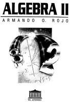 Algebra II (álgebra lineal)- Armando Rojo