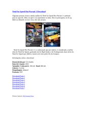 Need for Speed Hot Pursuit 2 Download.doc