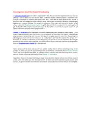 Knowing more about the chapter 13 bankruptcy.pdf