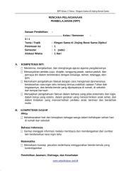 [4] RPP SD KELAS 3 SEMESTER 1 - Ringan Sama Dijingjing Berat Sama Dipikul www.sekolahdasar.web.id.docx
