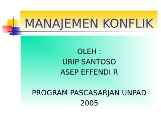 Manajemen Konflik.ppt